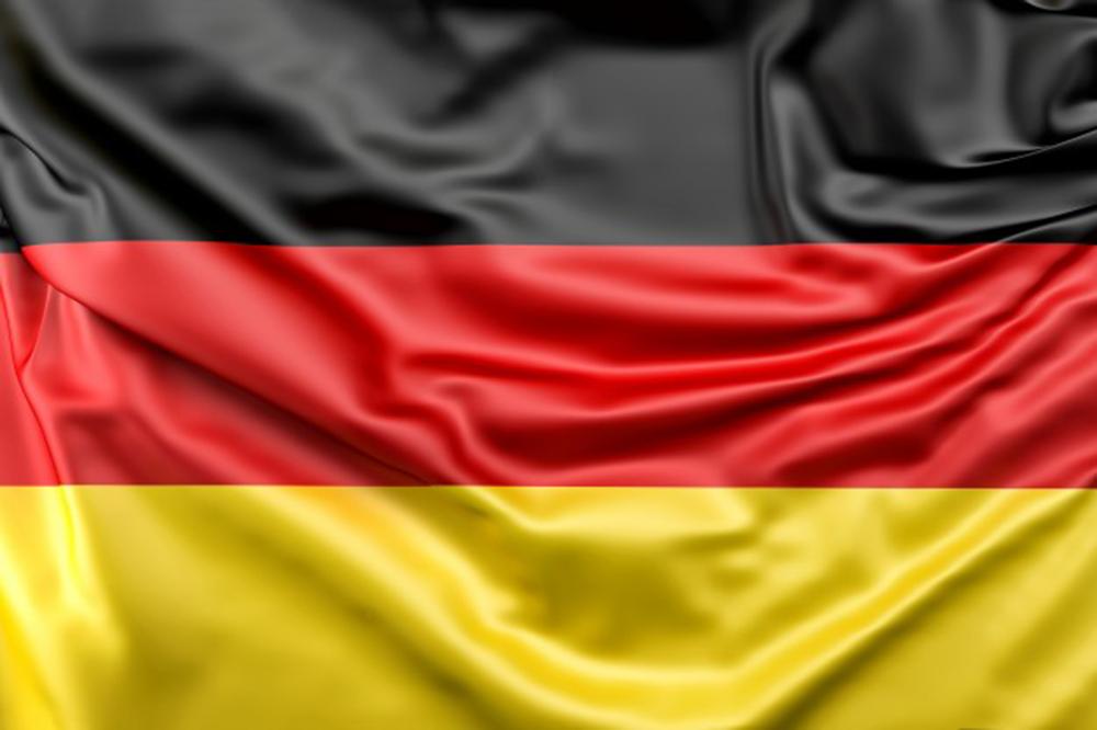Le drapeau de l'Allemagne